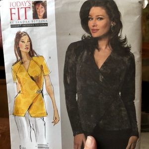 Vogue pattern V1164 all size shirt top today's fit